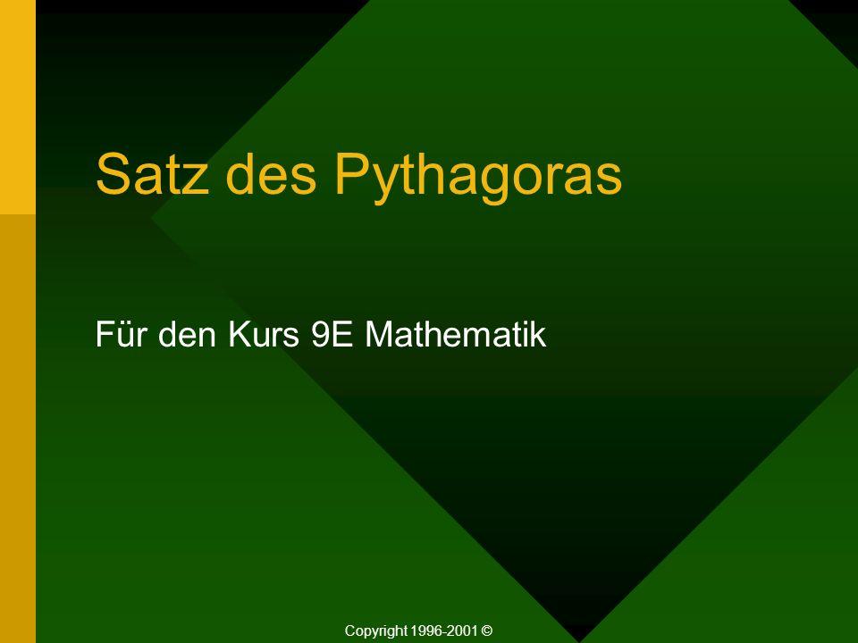 Für den Kurs 9E Mathematik