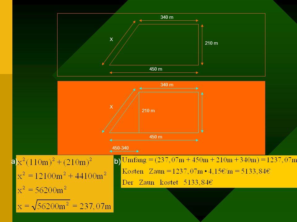 340 m210 m. 450 m. X. 340 m. 210 m. 450 m. X. 450-340.