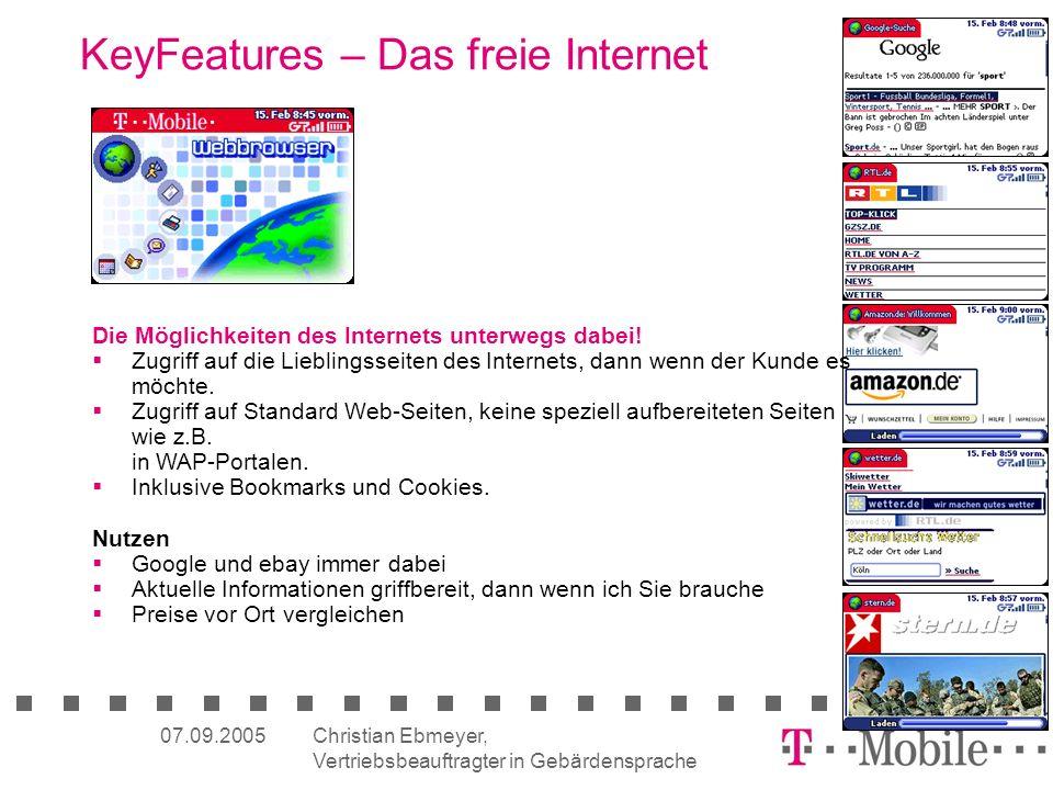 KeyFeatures – Das freie Internet