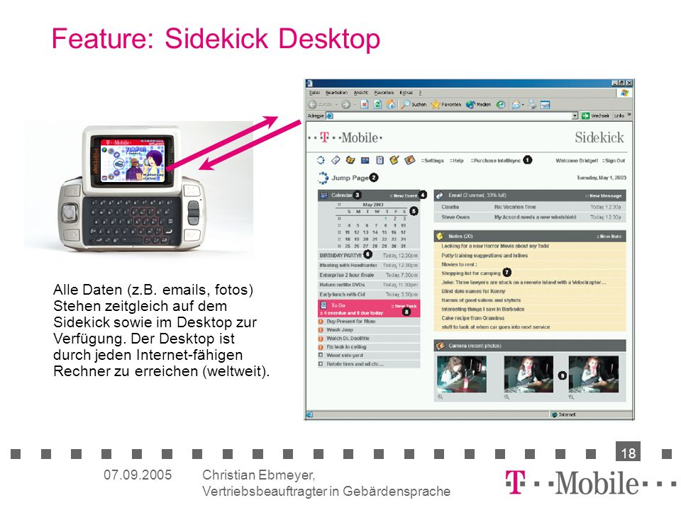 Feature: Sidekick Desktop
