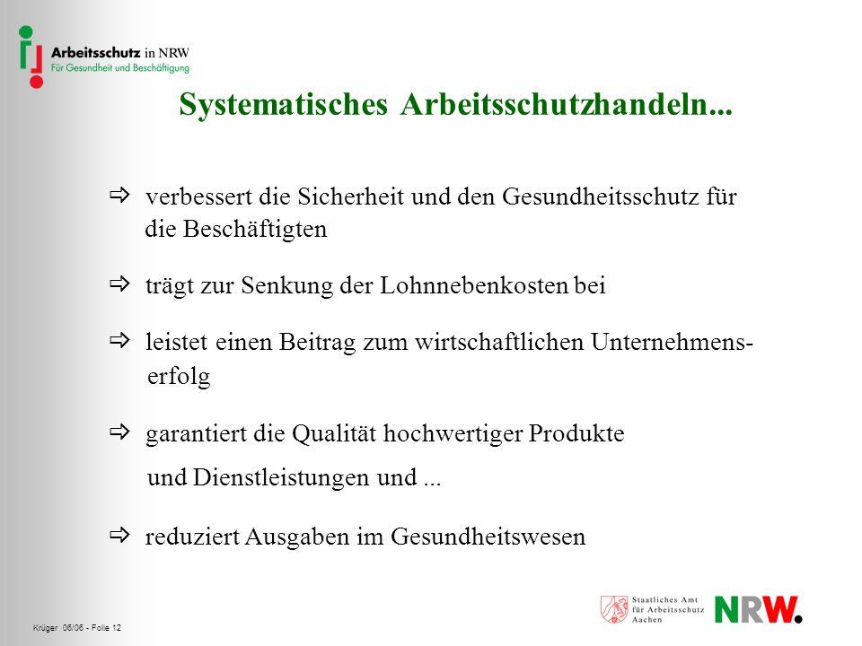 Systematisches Arbeitsschutzhandeln...