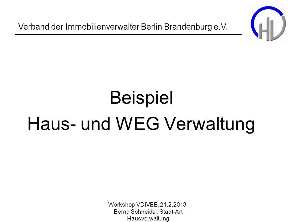 Haus- und WEG Verwaltung