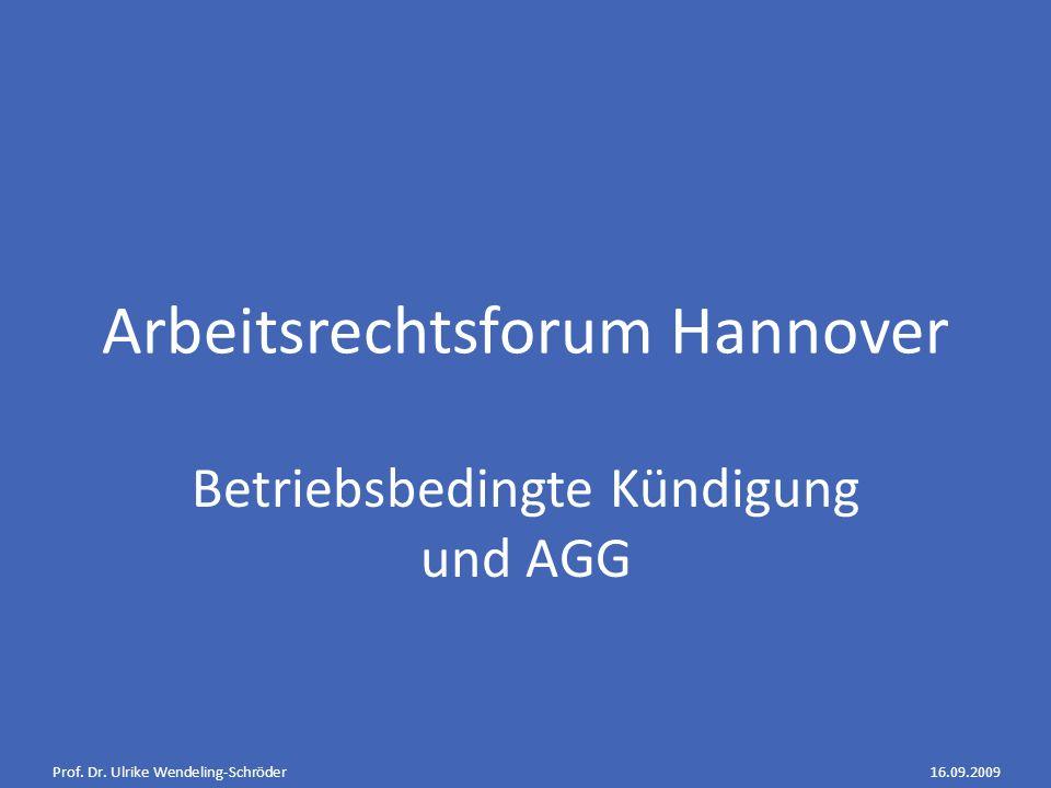 Arbeitsrechtsforum Hannover