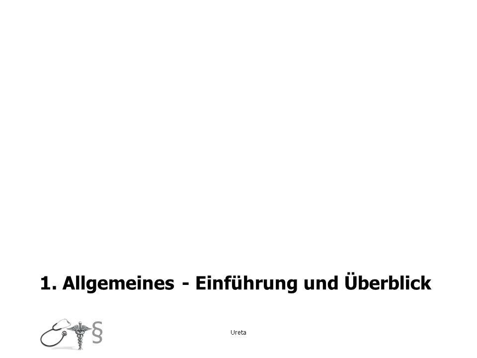 1. Allgemeines - Einführung und Überblick