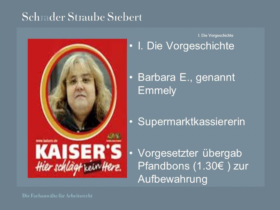 Barbara E., genannt Emmely