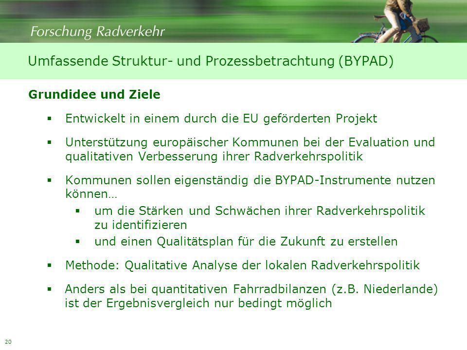 Umfassende Struktur- und Prozessbetrachtung (BYPAD)