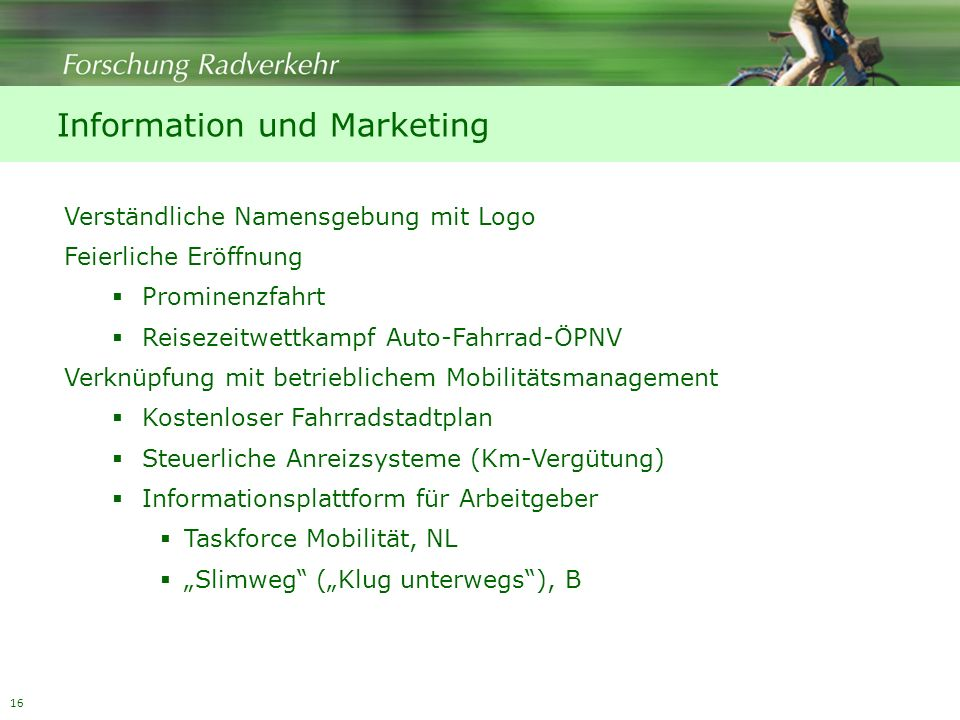 Information und Marketing