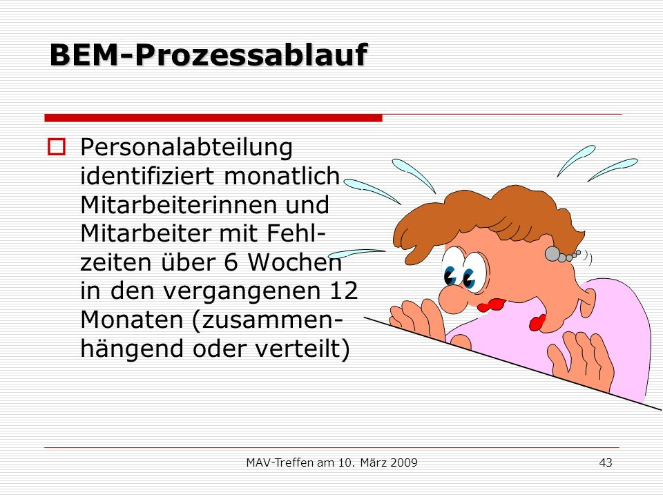 BEM-Prozessablauf