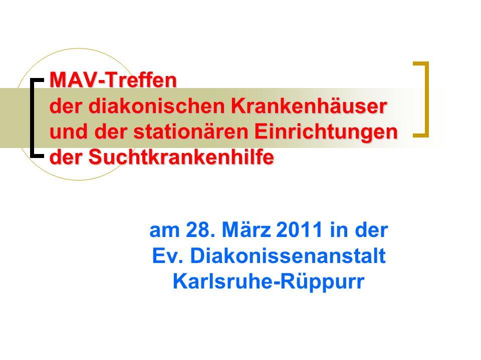 am 28. März 2011 in der Ev. Diakonissenanstalt Karlsruhe-Rüppurr