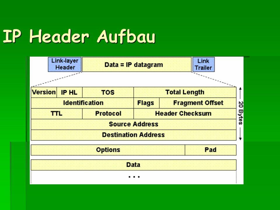 IP Header Aufbau