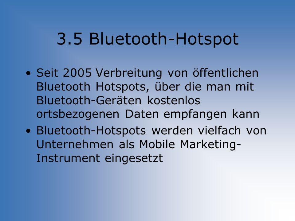 3.5 Bluetooth-Hotspot