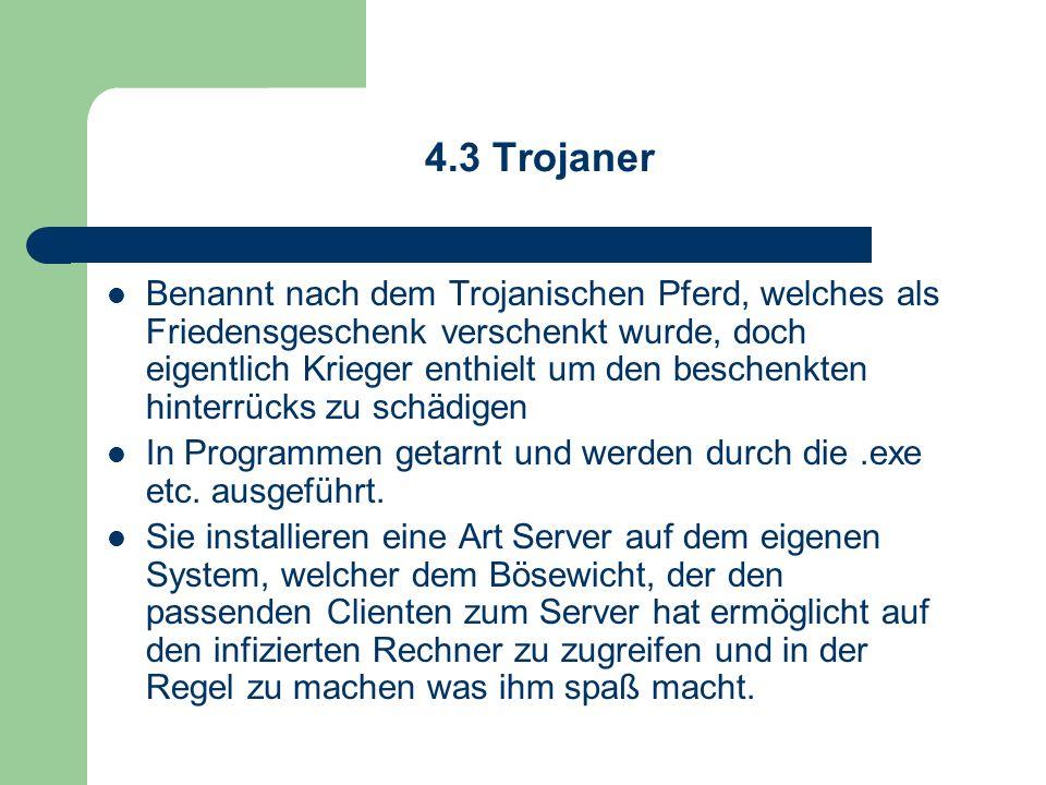 4.3 Trojaner