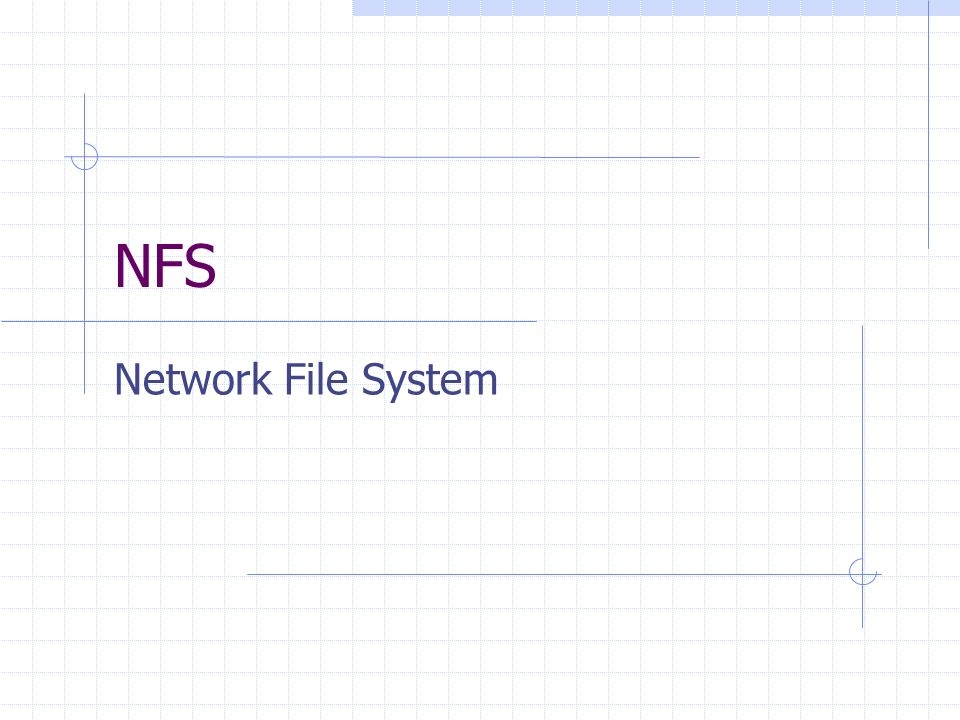 NFS Network File System