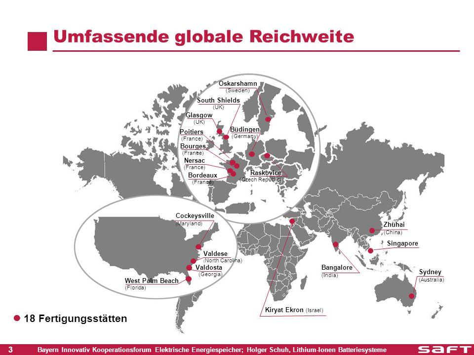 Umfassende globale Reichweite