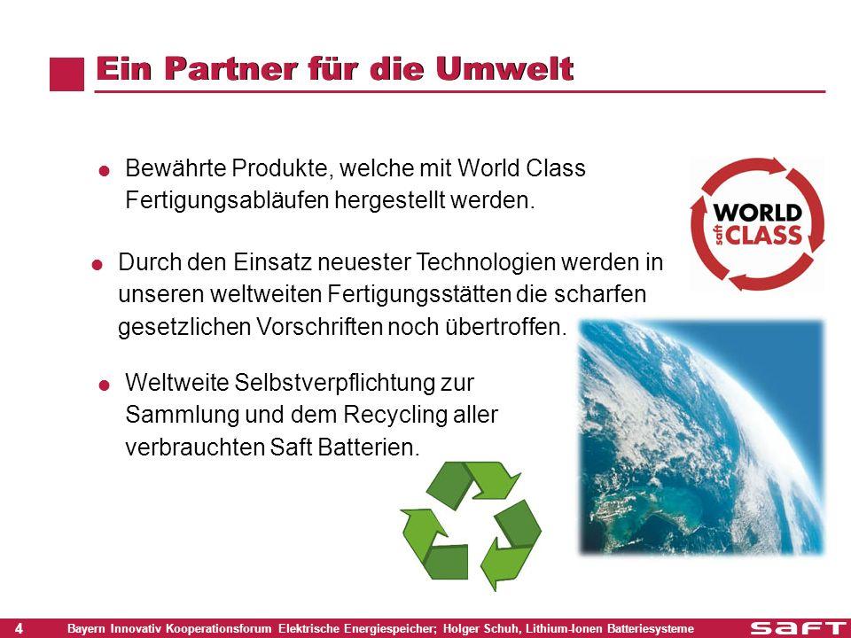 Ein Partner für die Umwelt