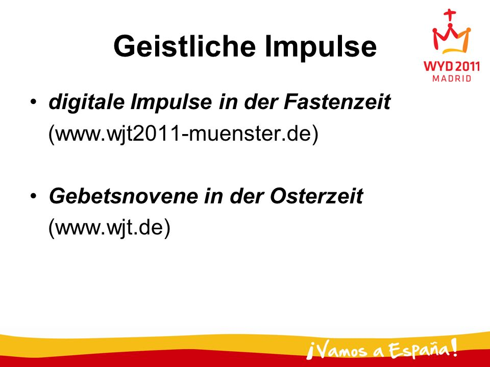 Geistliche Impulse digitale Impulse in der Fastenzeit