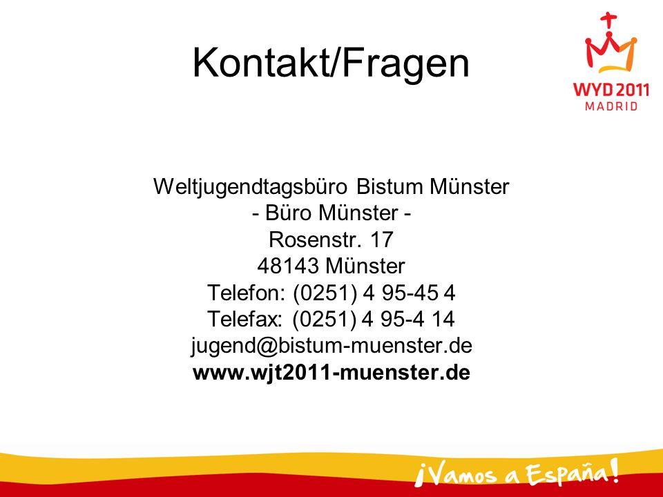 Weltjugendtagsbüro Bistum Münster