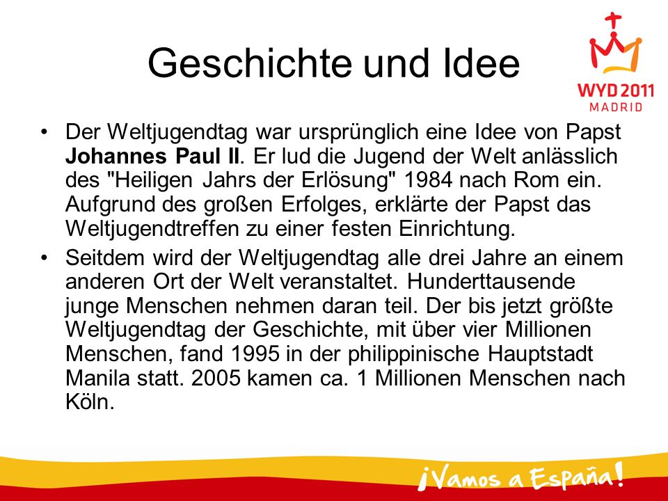 Geschichte und Idee
