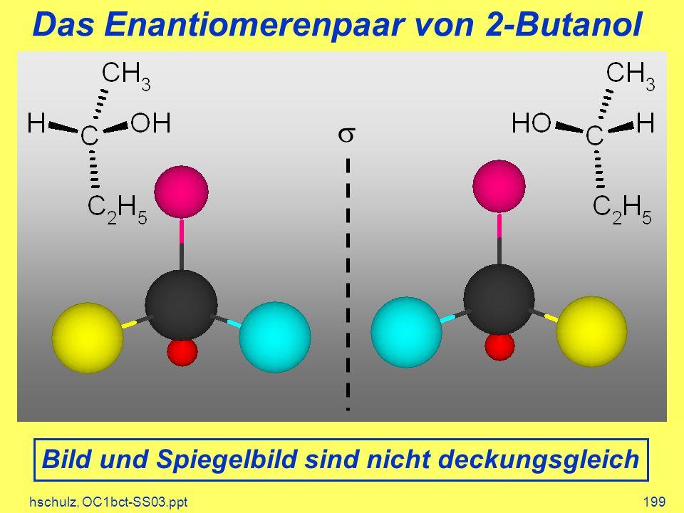 Das Enantiomerenpaar von 2-Butanol