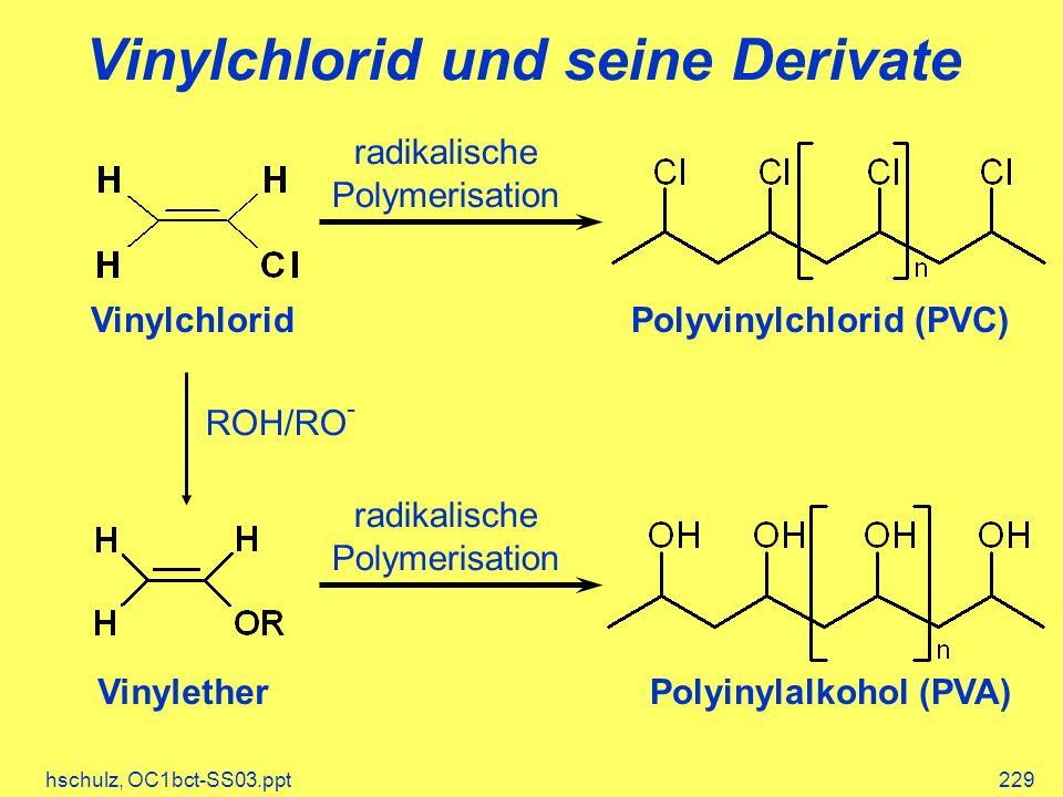 Vinylchlorid und seine Derivate