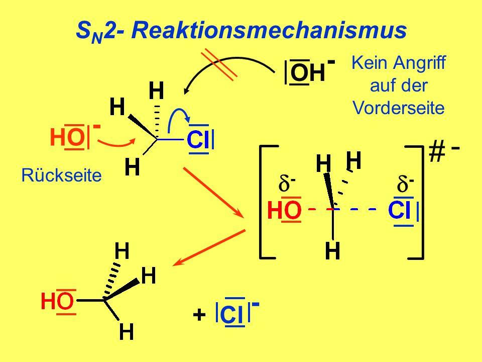 SN2- Reaktionsmechanismus
