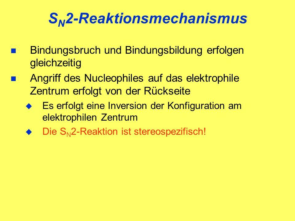 SN2-Reaktionsmechanismus