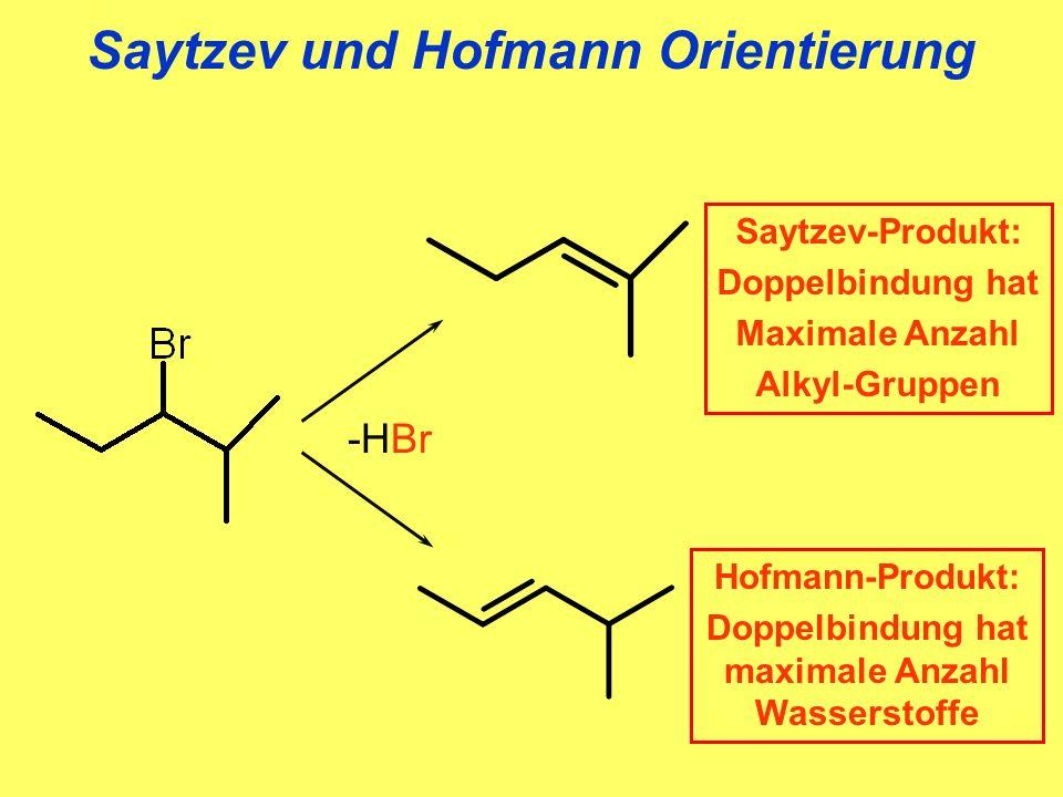 Saytzev und Hofmann Orientierung