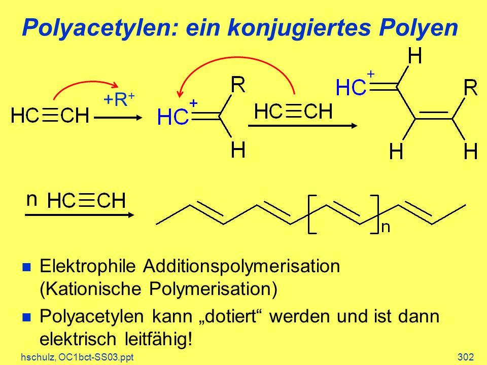 Polyacetylen: ein konjugiertes Polyen