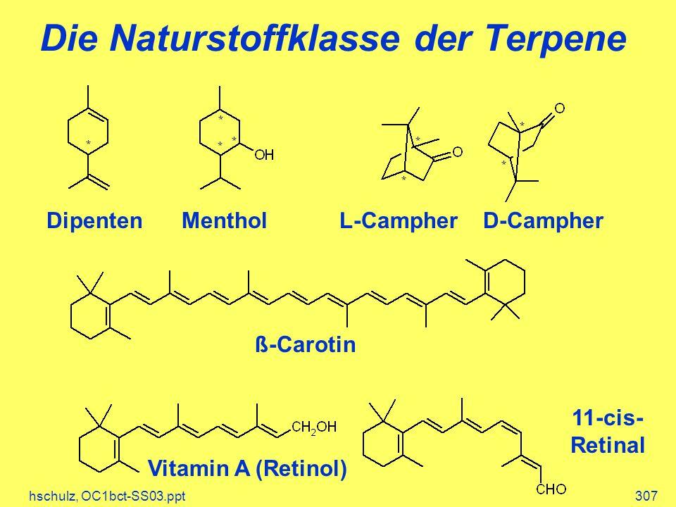Die Naturstoffklasse der Terpene