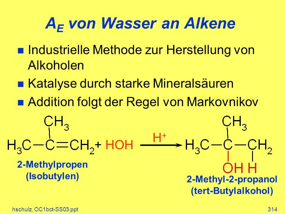 2-Methyl-2-propanol (tert-Butylalkohol)