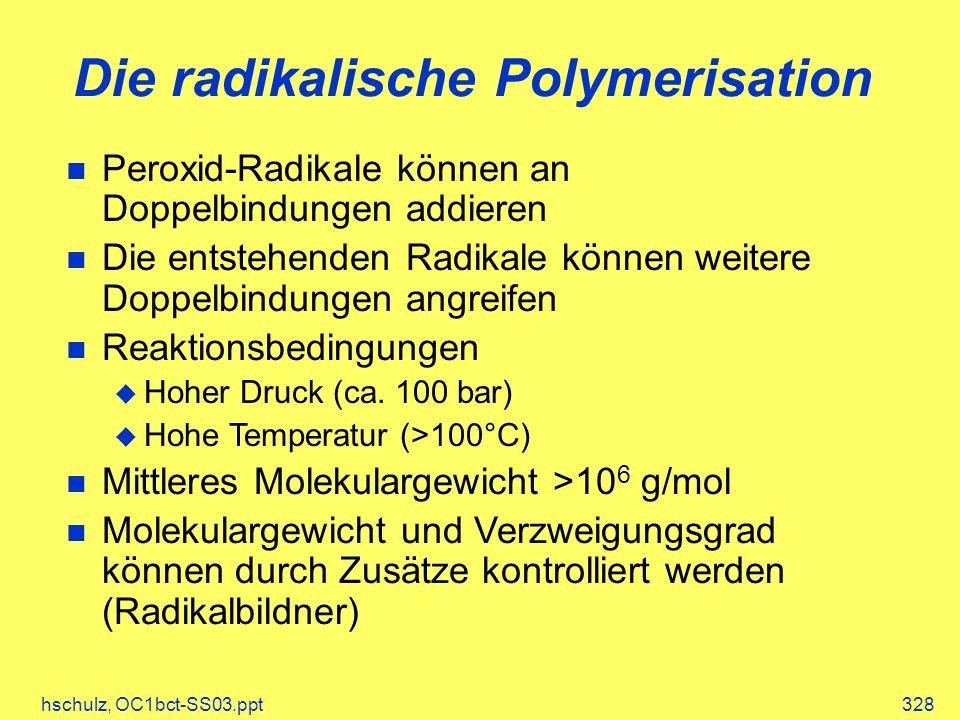 Die radikalische Polymerisation