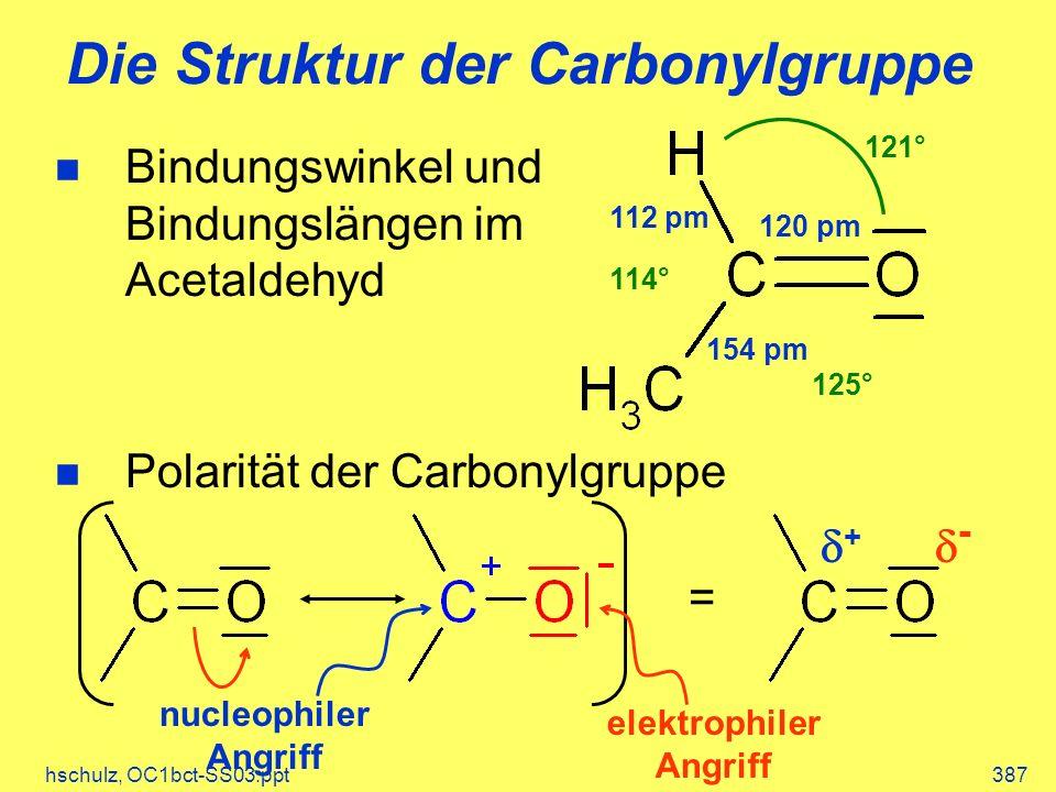 Die Struktur der Carbonylgruppe