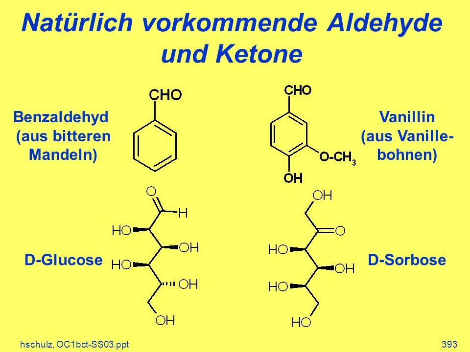 Natürlich vorkommende Aldehyde und Ketone