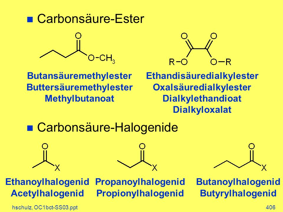 Carbonsäure-Halogenide