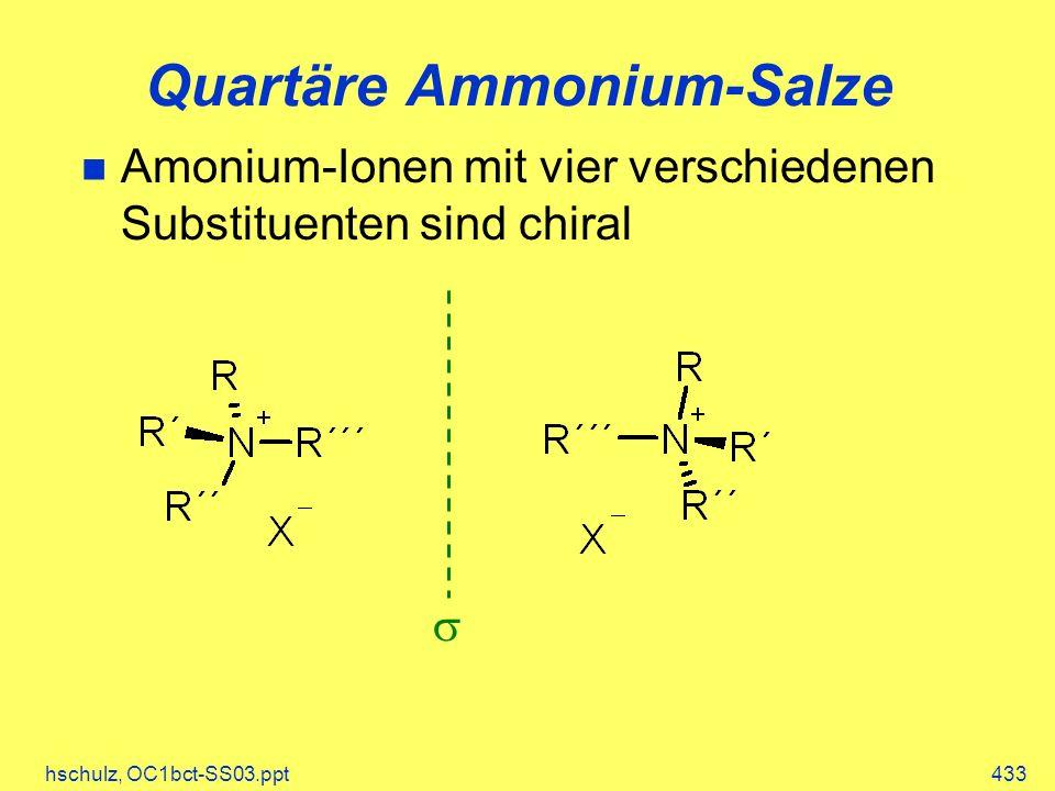 Quartäre Ammonium-Salze