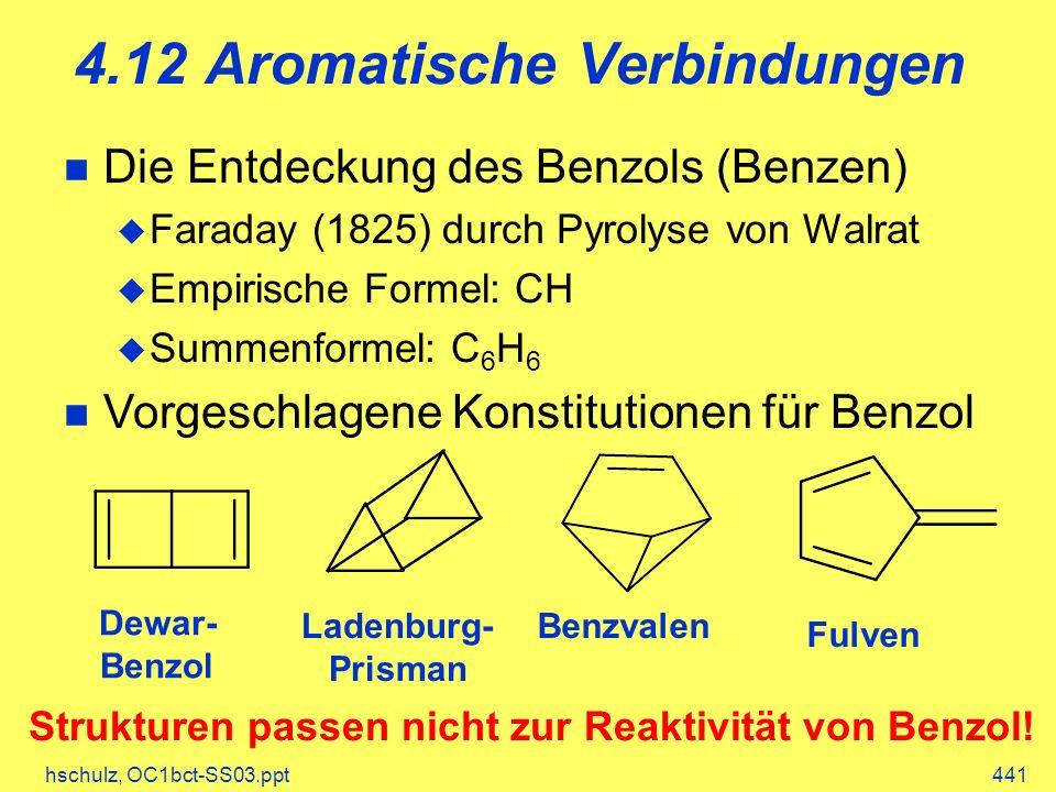 4.12 Aromatische Verbindungen
