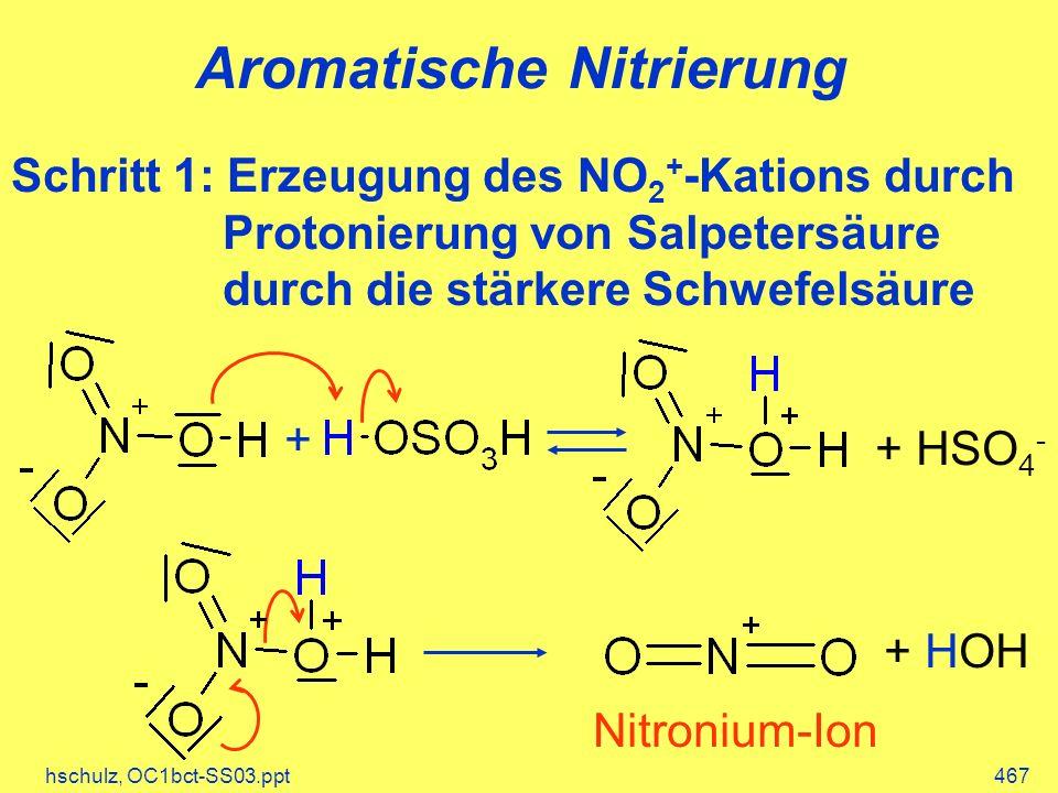Aromatische Nitrierung
