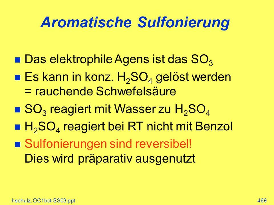 Aromatische Sulfonierung