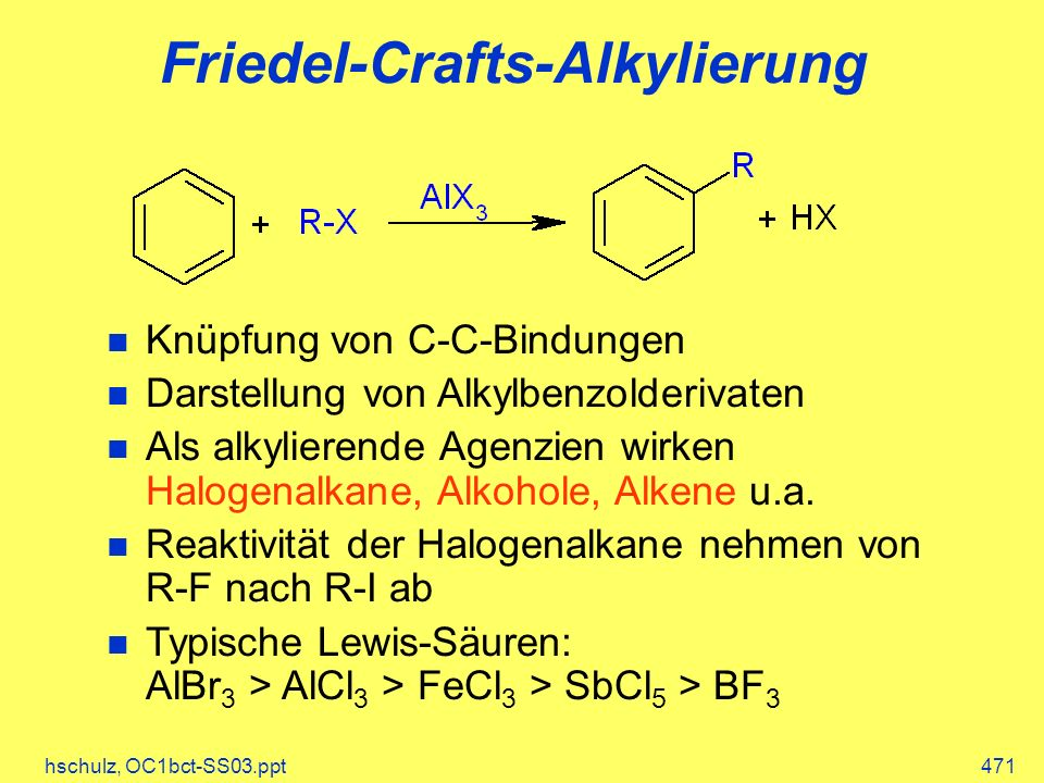 Friedel-Crafts-Alkylierung