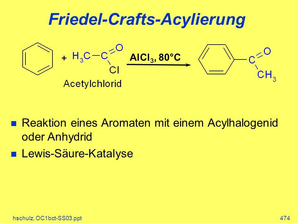 Friedel-Crafts-Acylierung