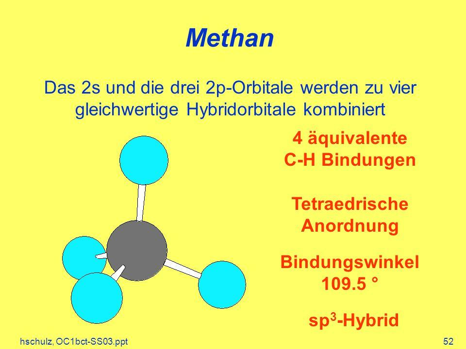 Tetraedrische Anordnung