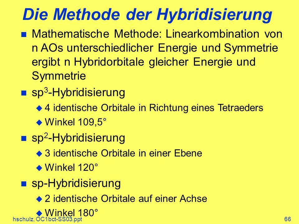 Die Methode der Hybridisierung