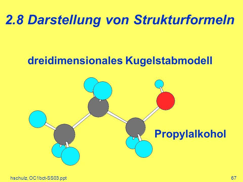2.8 Darstellung von Strukturformeln