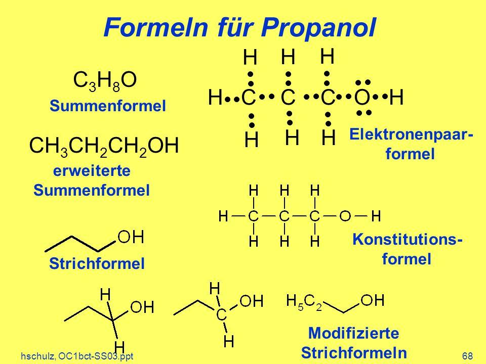 Elektronenpaar- formel Konstitutions- formel