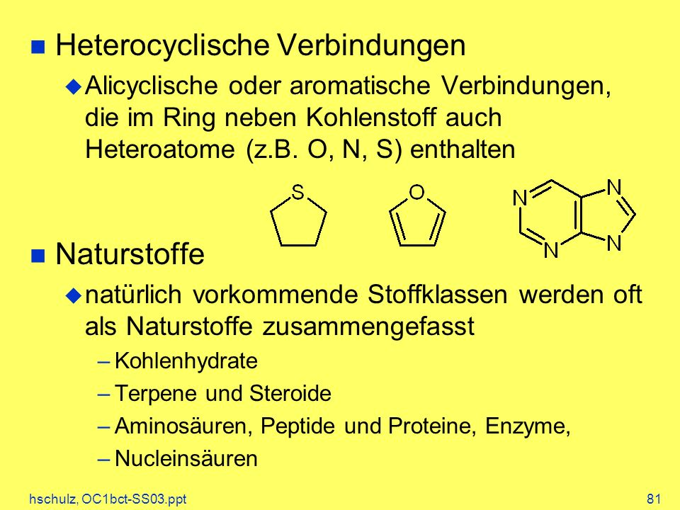Heterocyclische Verbindungen