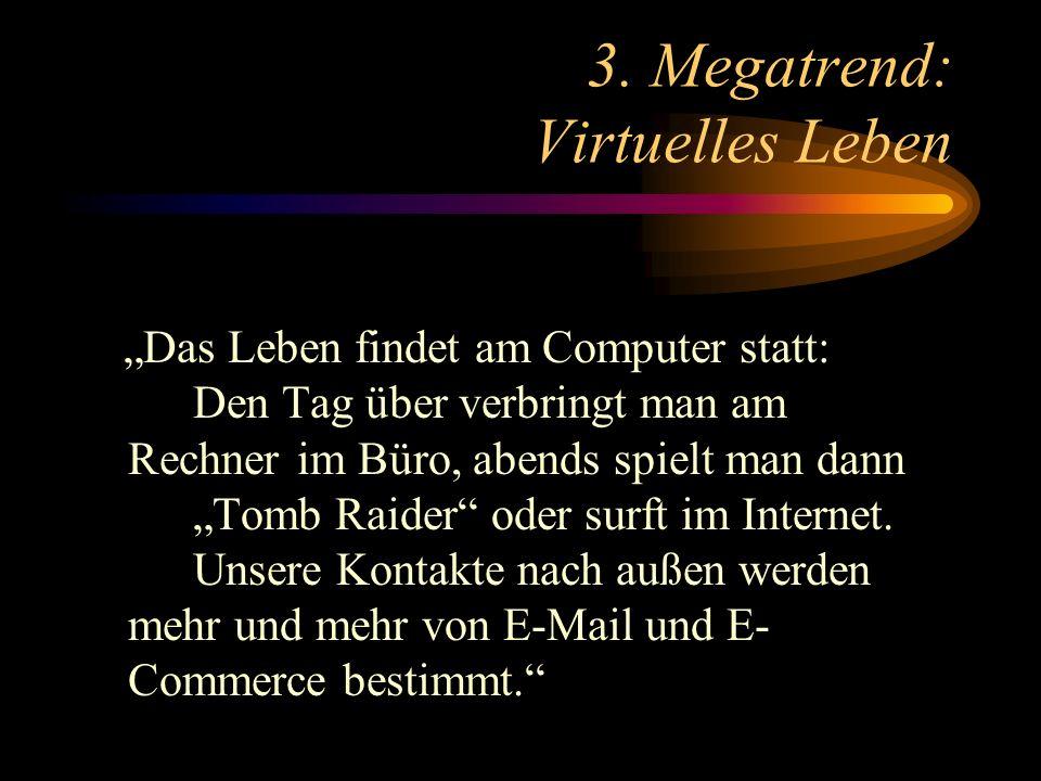 3. Megatrend: Virtuelles Leben