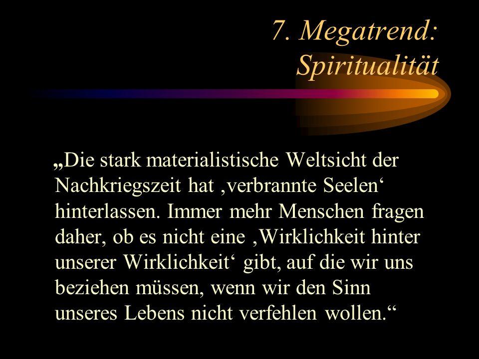 7. Megatrend: Spiritualität