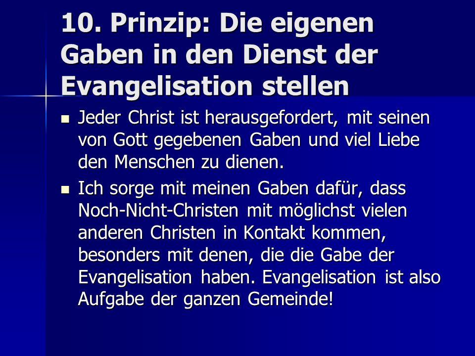 kontakte zu anderen christen