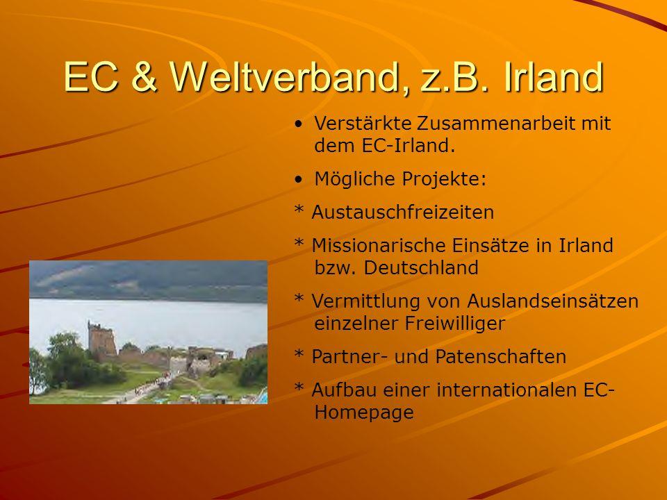 EC & Weltverband, z.B. Irland
