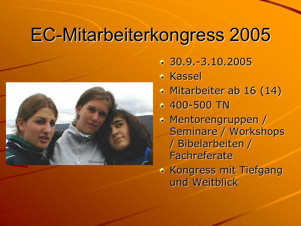 EC-Mitarbeiterkongress 2005